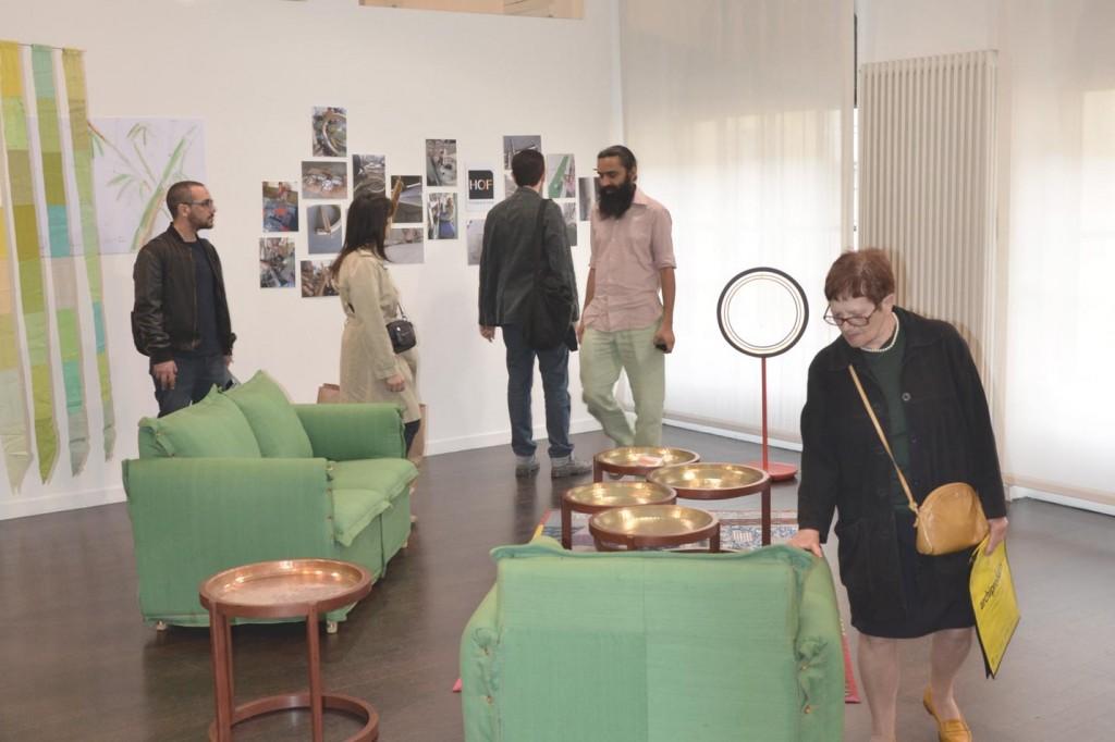 Launching DOAB sofas at Milan's Design Fair1
