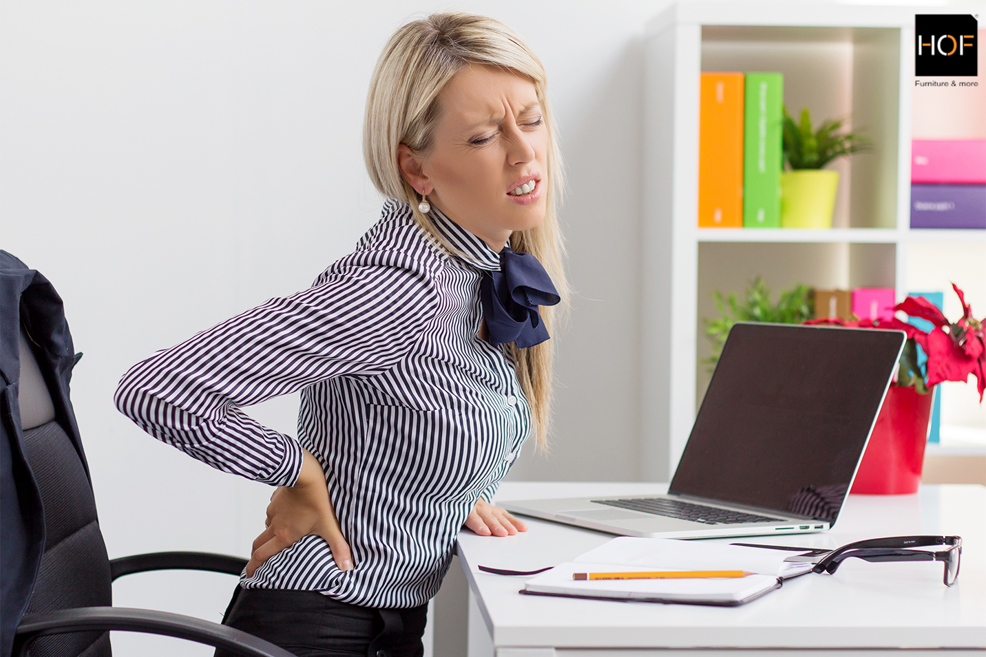 Eliminate Back Pain With Hof Office Chairs Hof India