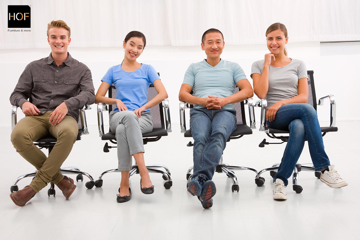 Do You Cross Your Legs While Seated On Office Chairs Hof