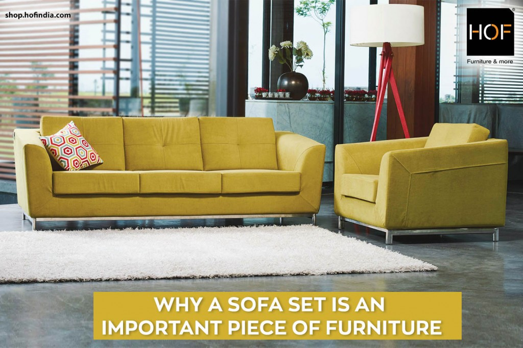 Cool Why A Sofa Set Is An Important Piece Of Furniture Hof India Machost Co Dining Chair Design Ideas Machostcouk