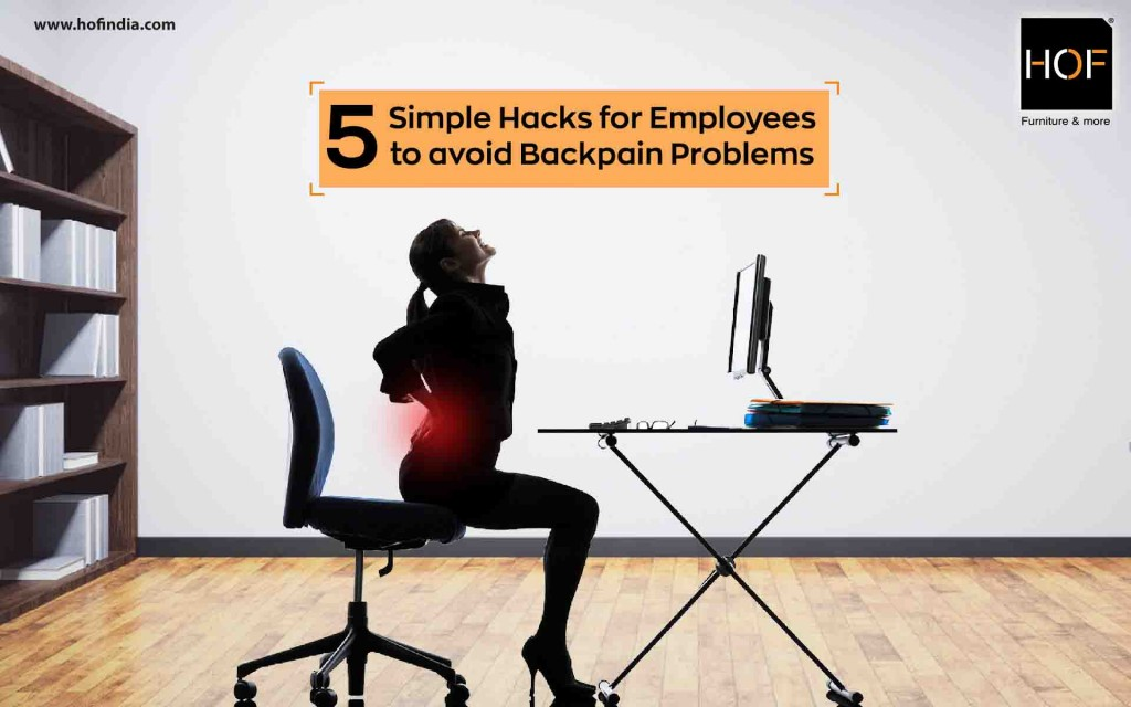 Office Chairs Simple Hacks To Avoid Backpain