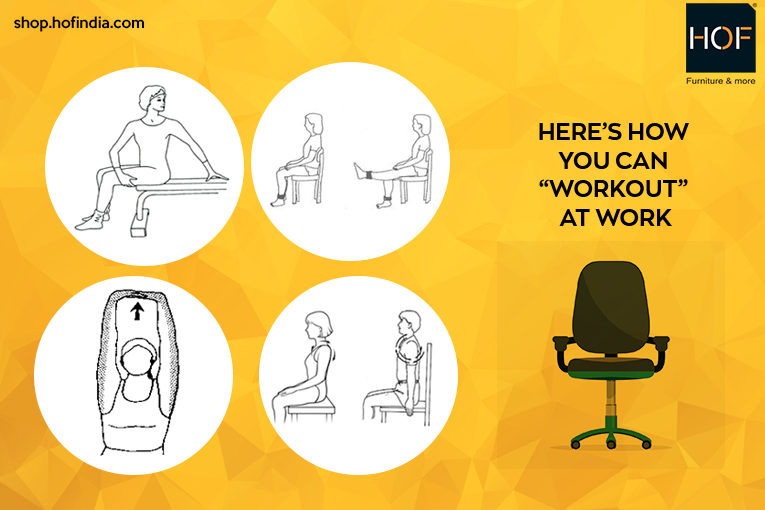 Hereu0027s How You Can u201cWork-Outu201d At Work · Office Chair Exercise  sc 1 st  HOF chairs & Ergonomics