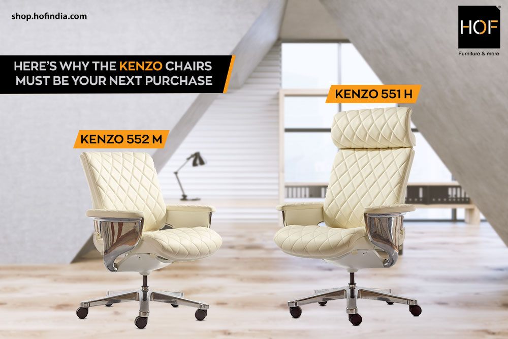 Here's Why the Kenzo Chairs Must Be Your Next Purchase HOF India
