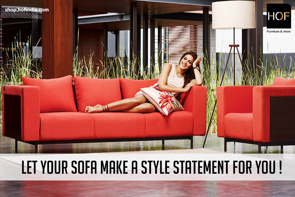 Let Your Sofa Make a Style Statement for You
