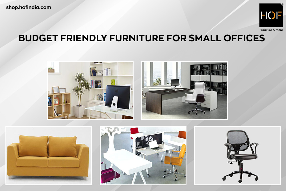 Budget Friendly Office Furniture for Small Offices
