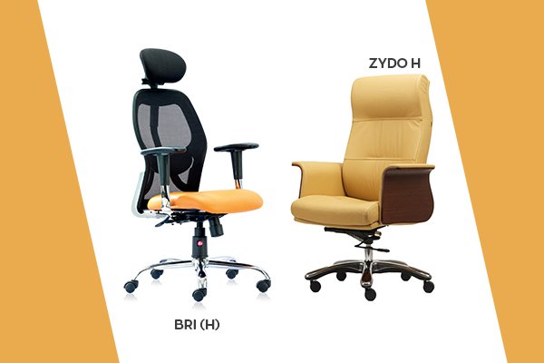 Buy mesh chairs online, buy leather chairs online - HOF
