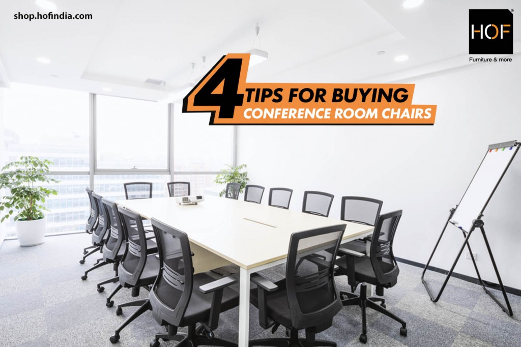 4 tips for buying conference room chairs