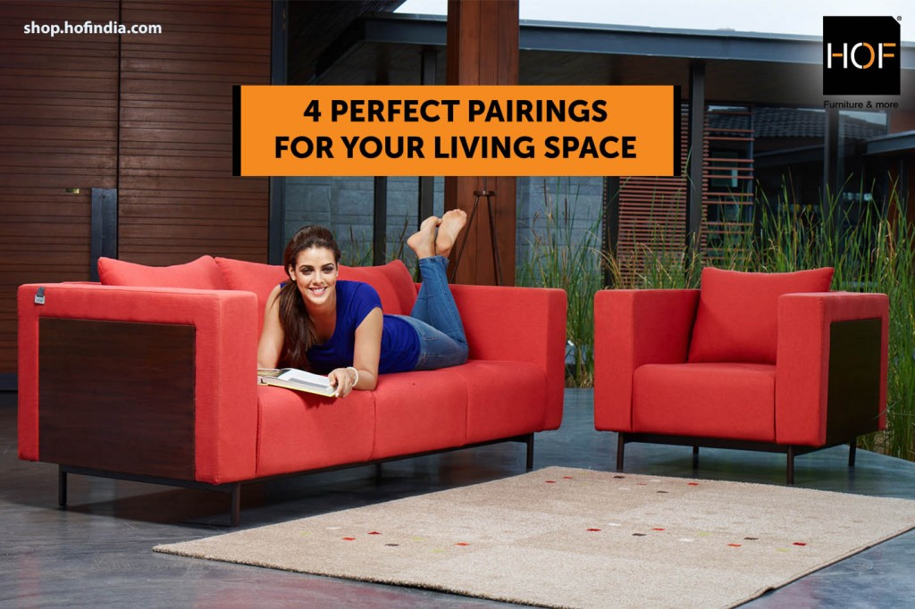 4 perfect pairings for your living space