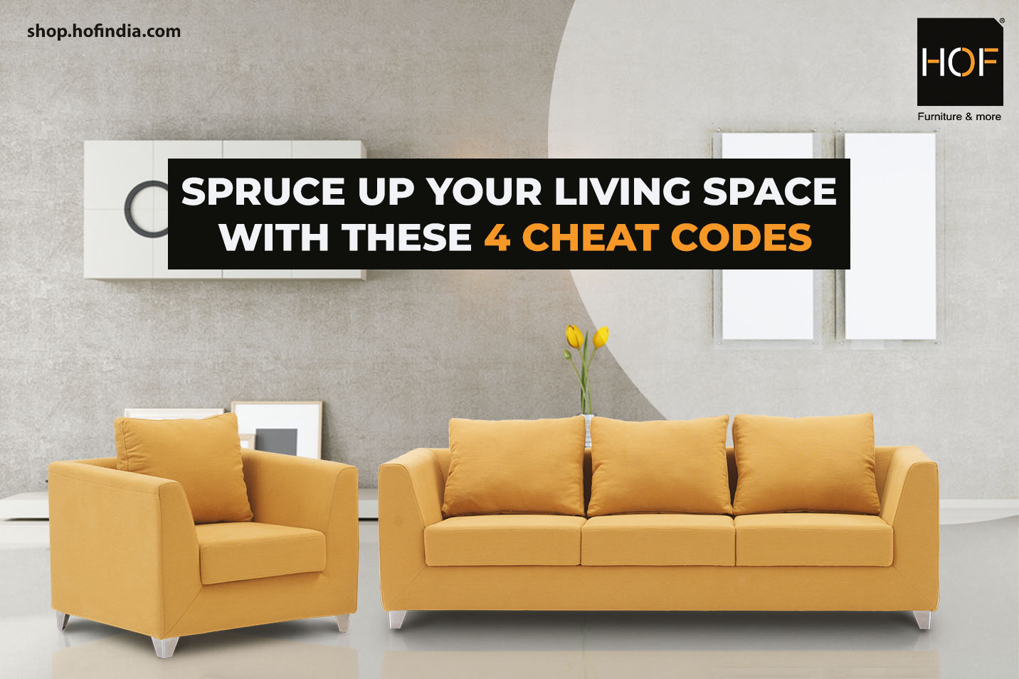 Spruce up your living space with these 4 cheat codes