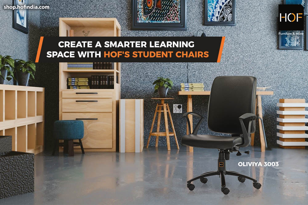 Create a smarter learning space with HOF's student chairs