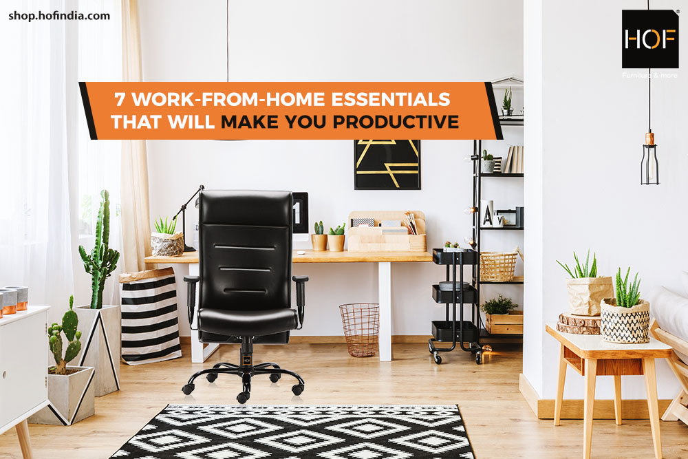 7 work-from-home essentials that will make you productive