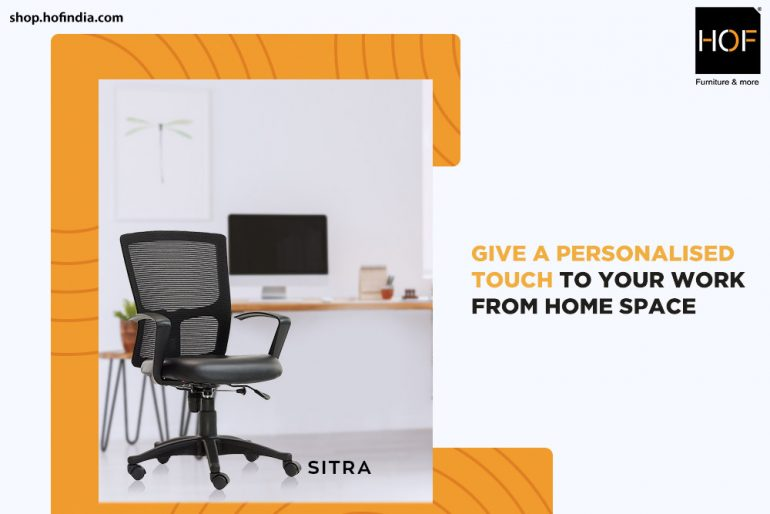 Give a personalized touch to your work from home space